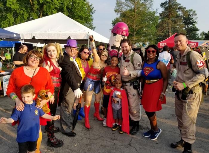 Mental Health Advocates Superhero Race for children's mental health