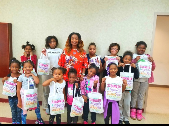 Girl Scouts speaking event